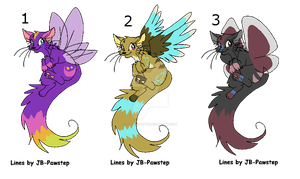 Cat with wings adoptables by LizzysAdopts