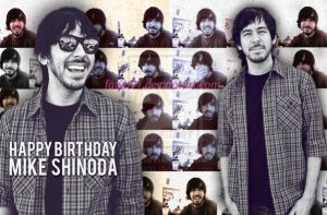 happy bday mike shinoda by Fatya91
