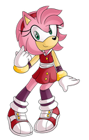 .:Sonic Boom:.Amy Rose!~ by 13ooyakasha