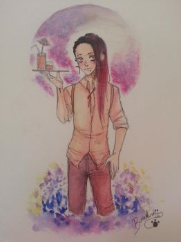 [TSS] Asher watercolor ~ by BlackAngelsAS