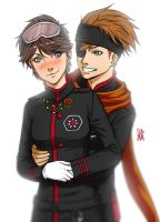 Commisison : Vendy And Lavi by mkw-no-ossan