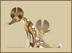 Wild Dogs by Canvascope