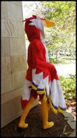 .:Crimson Profile:. by Ginger-Moon