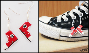 Little Red Converse All Star by CookingMaru