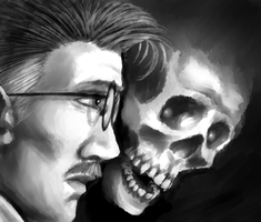 Speed Paint: Skull by Chuck-Nothing