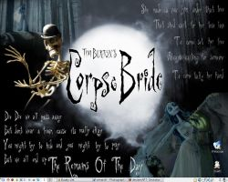 Corpse Bride Wallpaper by canderson