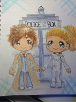 Doctor Who Chibis by xRainbowspark
