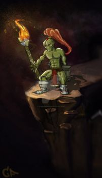 Fire Goblin by Someone9999
