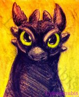 Toothless by LykosAnubis