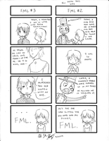 Crime and Punishment -4koma- 3 by ItaLuv