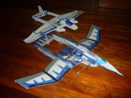 2012 Water Dragon RC Plane by synersignart