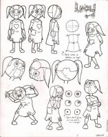 Model Sheets - Lucy by Ka-Star
