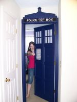 TARDIS Door Open by kurtklaineblaine