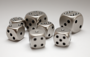 Metal Dice by bmh1