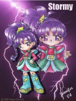 Anime Stormy from RainbowBrite by chibi-jen-hen