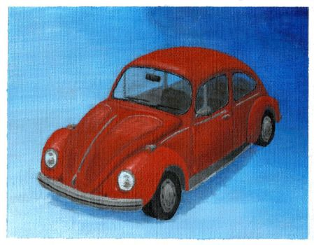Red Beetle by VWStiti