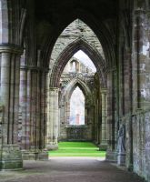Tintern Abbey 19 - Stock by OghamMoon