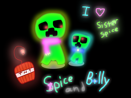 Spice and Billy by jiaqian02