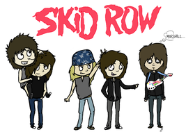 Skid Row. by Chillachin