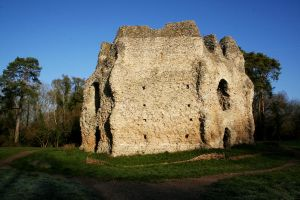 Odiham Castle 4 by GothicBohemianStock