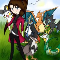 My pokemon team by unioxcaliber