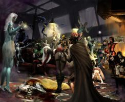 A Knight for Murder by graver13