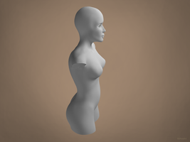 Sculpture Modelling by 8DFineArt