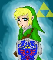 link the cute hero by Eponlindsey