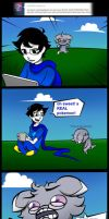 Ask John Egbert 80 by LeijonNepeta
