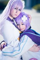 My dear sister - Hyperdimension Neptunia Cosplay by K-I-M-I