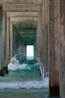 Scripps Pier VIII by LDFranklin