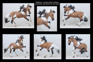 Battlecry custom Breyer by Sue Kern by pookyhorse