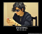 Texting - Gackt by KagsChann