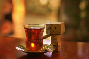 danbo and tea by esmaLaLe