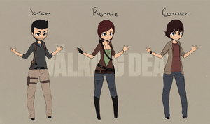 Walking Dead OCs: REF by Adraowen