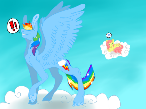 Gay sky pones by fluffypufflove