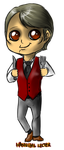 Minis 31 - Hannibal Lecter (outfit 1) by FuriarossaAndMimma