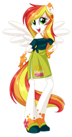 Equestria Girls Rainbow Fall by Centchi