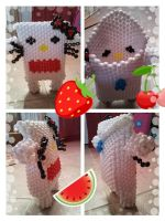 kandi hello kitty domo bag by BBEEAARR