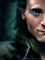 Loki - Shadow by riotfaerie