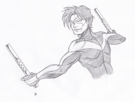 Dick Grayson by Joey-Darkmeat