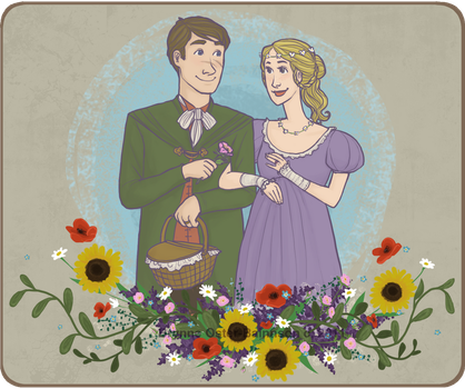 Neville and Hannah's Picnic by Svenly