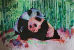 Two Panda by FranciscaMeena