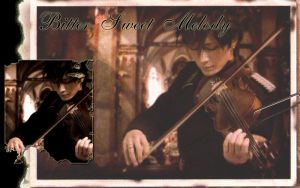 Gackt: The Wallpaper-Violin by megami195