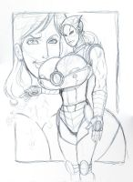 Commission: IRON LADY by sam7