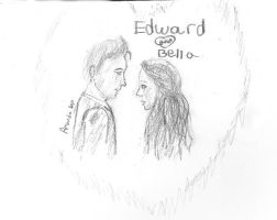 Edward and Bella by MandaIrene