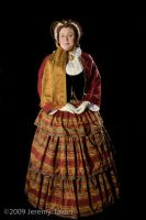 2009 Victorian 1860s Lady by Cuddlyparrot