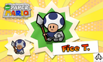 New Paper Mario: Fice T. by Nelde