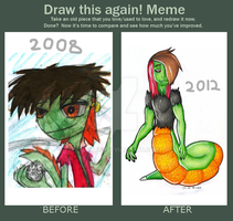 Meme: before and After 2 by Gamibrii