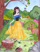 Fairy Tale I: Snow White by ElyonHeart